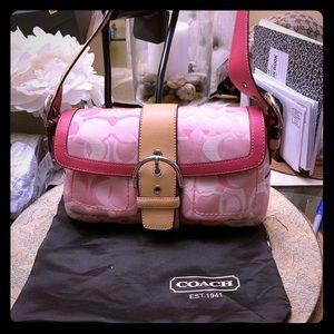 Preloved Coach Mini Hand Bag